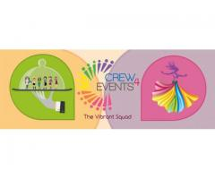 Crew4Events Provides Manpower Services for Auto Expo