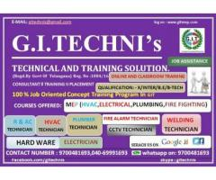 HVAC DRAFTING COURSES,ACUTOCAD TRAINING CENTERS IN HYDERABAD ASIF NAGAR GITECHNIS