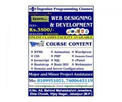 WEB DESIGNING AND DEVELOPMENT TRAINING CLASSES - INGENIUS PROGRAMMING CLASSES