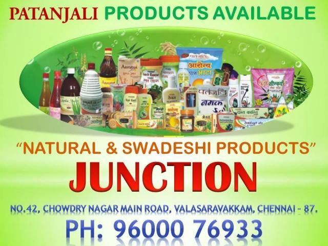 Patanjali Products at Valasaravakkam