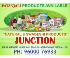 Patanjali Products at Valasaravakkam