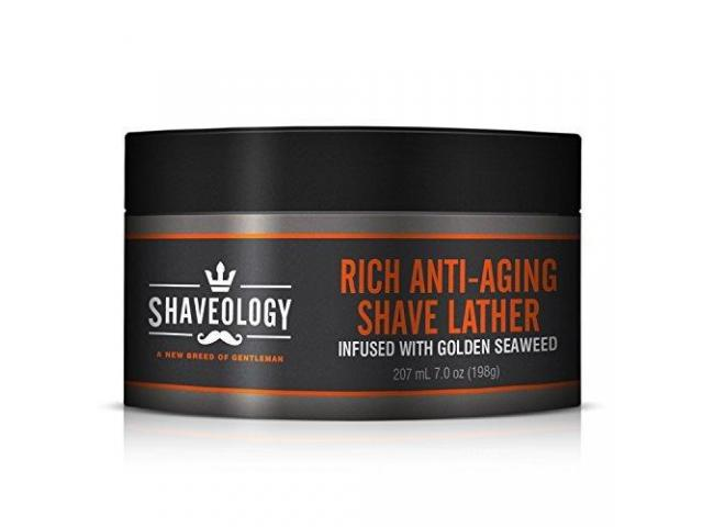 Pre Anti-Aging Men's Shave Cream - Create Rich Lather