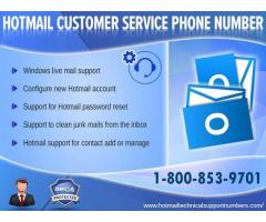 Dial (1-800-853-9701) to have Instant Guidance for Hotmail: